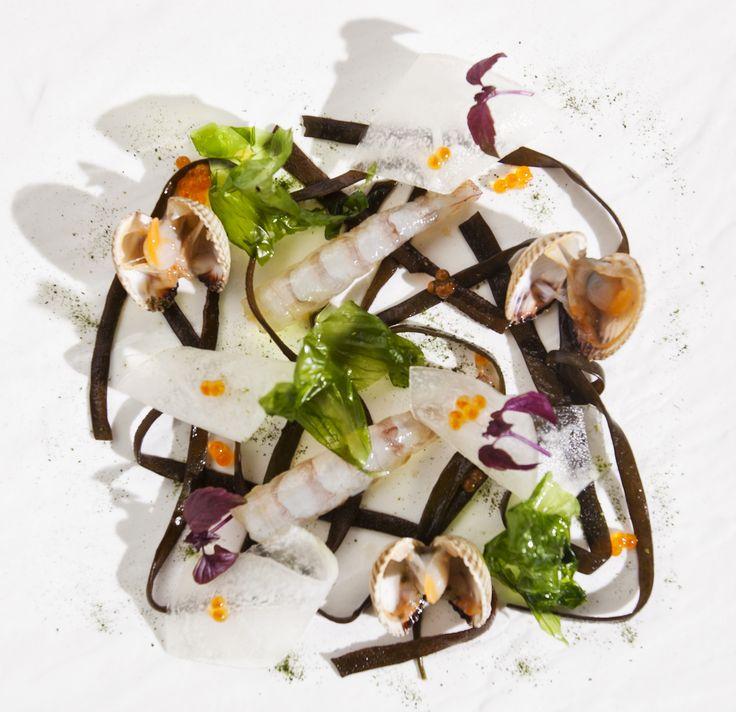 http://brunovital.com/post/ensalada-de-algas-y-melon-con-langostinos-y-berberechos-by-raul-resino