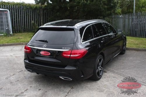 Mercedes C-Class Estate - 5% Window Tint - https://www.motomotion.net/mercedes-c-class-estate-5-window-tint/ #GtechniqUK #Detailing #Valeting #Tinting #Motomotioncornwall