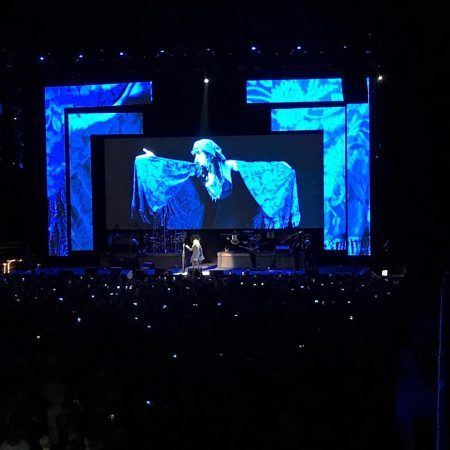 "Stevie Nicks performs ""Bella Donna"" at Philips Arena. (Photo by Collin Kelley)"