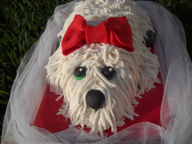Perro de Fondant - Cake dog - Puppy cake