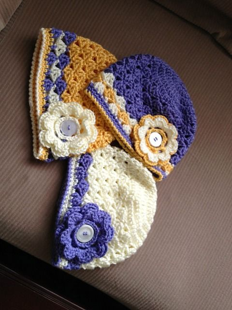 Ravelry: Spring lacy hat FREE Pattern by Myhobbyiscrochet