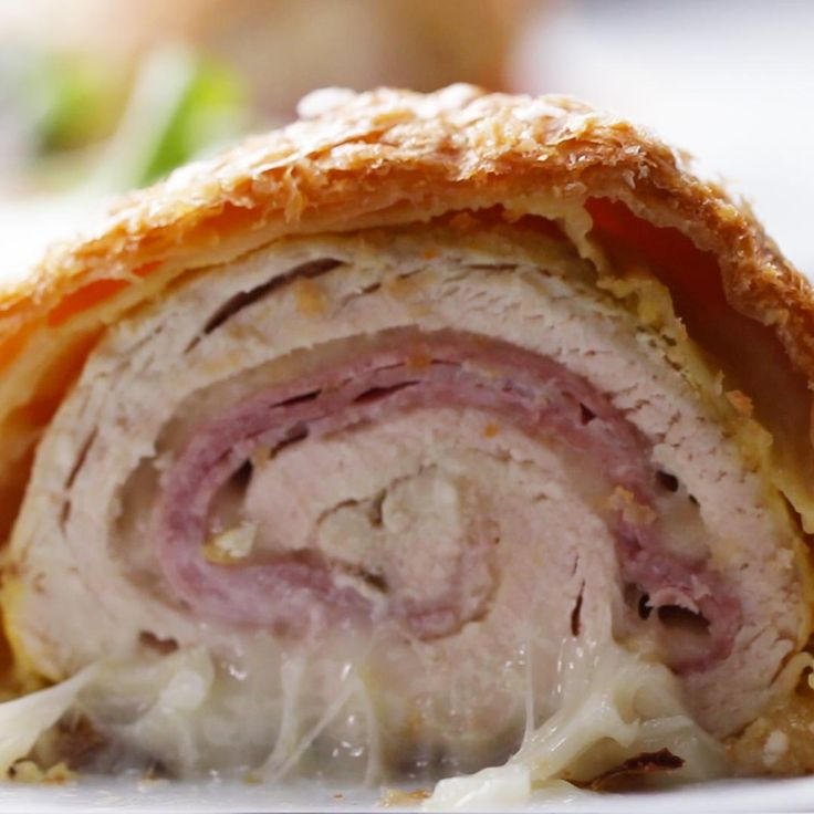 Chicken Cordon Bleu Bake Recipe by Tasty