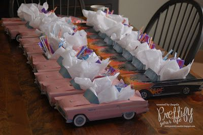 Cute for lunch boxes for 50's party