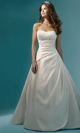 New With Tags Alfred Angelo Wedding Dress 1136, Size 16