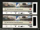 #Ticket  2 Tickets TSG 1899 Hoffenheim  BVB Borussia Dortmund Osttribüne Kat. 1 Block L #deutschland