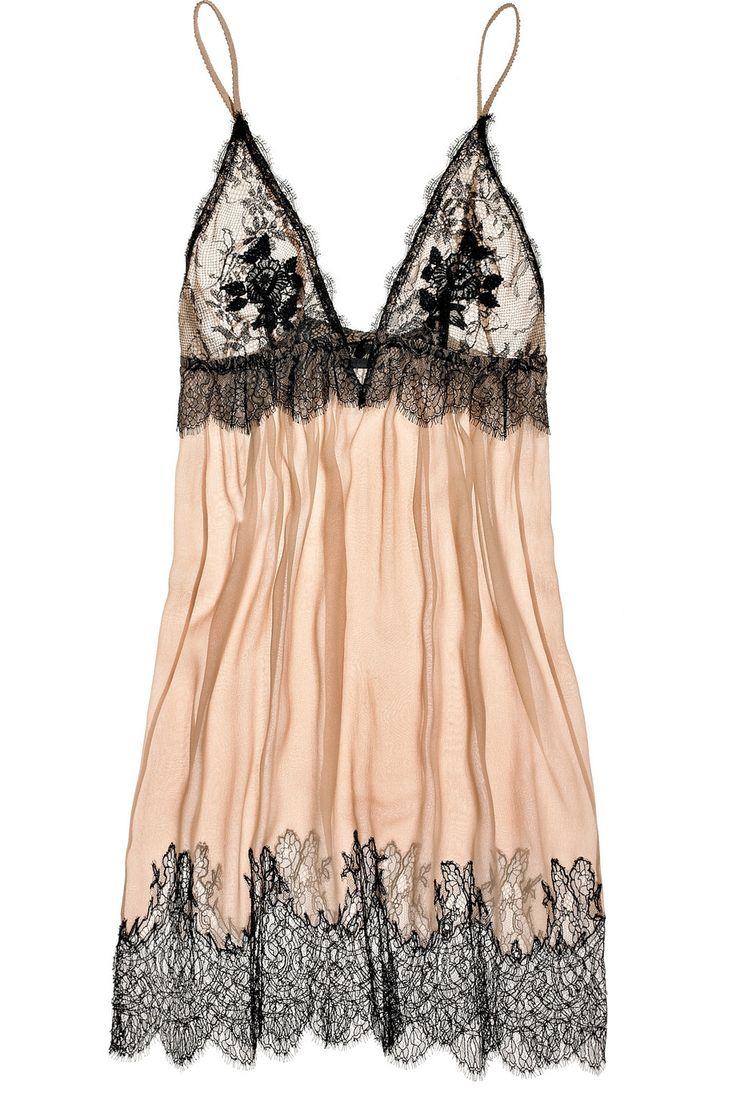 Every woman needs an elegant silk slip in her wardrobe. Jenny Packham