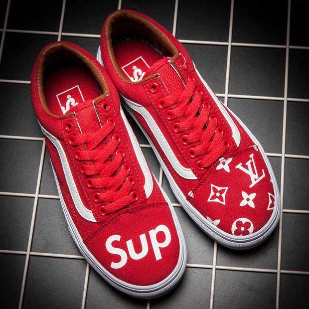 Vans x Supreme x LV Old Skool