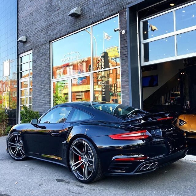 #Porsche Turbo with some TechArt. • Follow @toyzautoart • • Automotive + Design •…