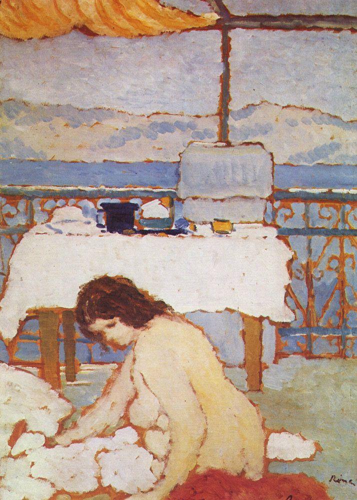 József Rippl-Rónai - Nude on a Balcony 1909