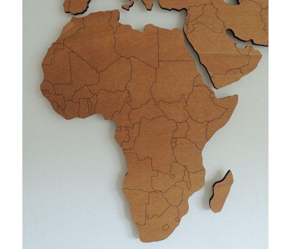 25 best ideas about weltkarte afrika on pinterest - Auslandsjahr abschiedsgeschenk ...