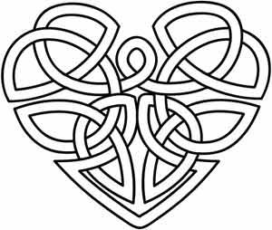 Celtic Heart Designs | found in wedding celtic irish valentines day celtic heart uth2944 ...