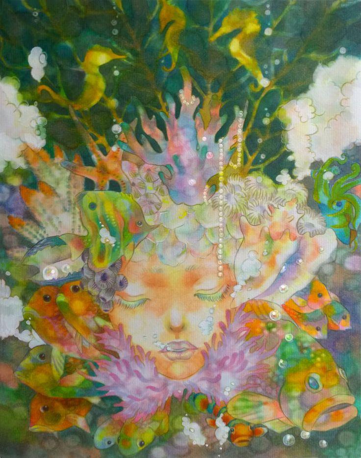 A Child of Corals by Reina-Ruuska on deviantART