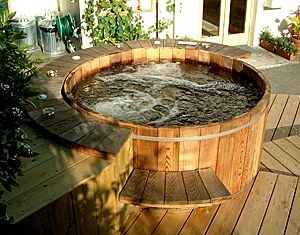 Forest Lumber & Cooperage Hot Tub