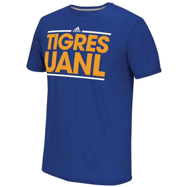 Tigres UANL adidas Go To Performance Logo climalite T-Shirt - Blue