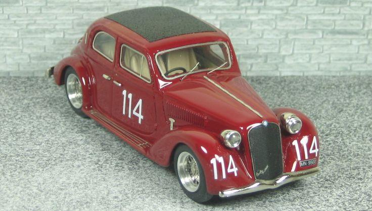 Alfa Romeo 6c 2300 Berlina - Mille Miglia 1937 - - AlfaModel43