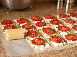 Caprese Lasagna Roll Ups Recipe | Just A Pinch Recipes