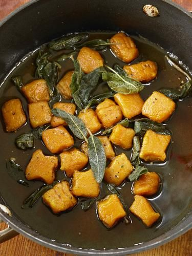 omnomnom: Vegan Sweet Potato Gnocchi with Sage Butter