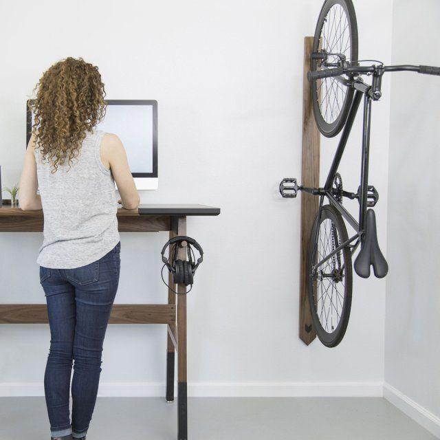 Walnut Bike Rack by Artifox