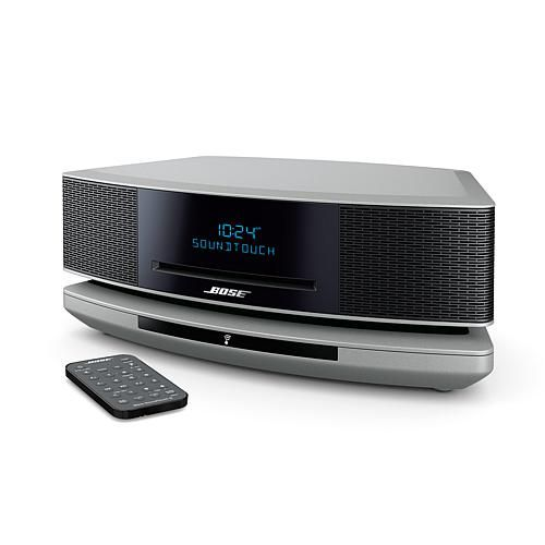Bose® Wave® SoundTouch™ Music System IV with CD Player and Dual Alarm - Metallic