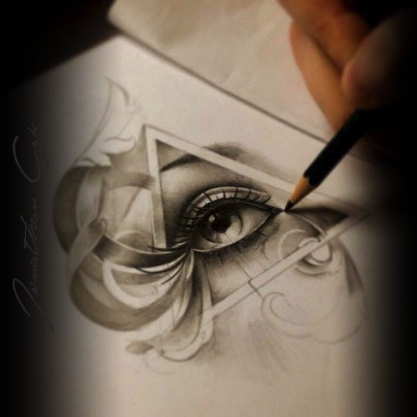 Illuminati Eye Tattoo Meaning The 25+ best Illuminat...