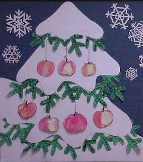 větvička s jablkem