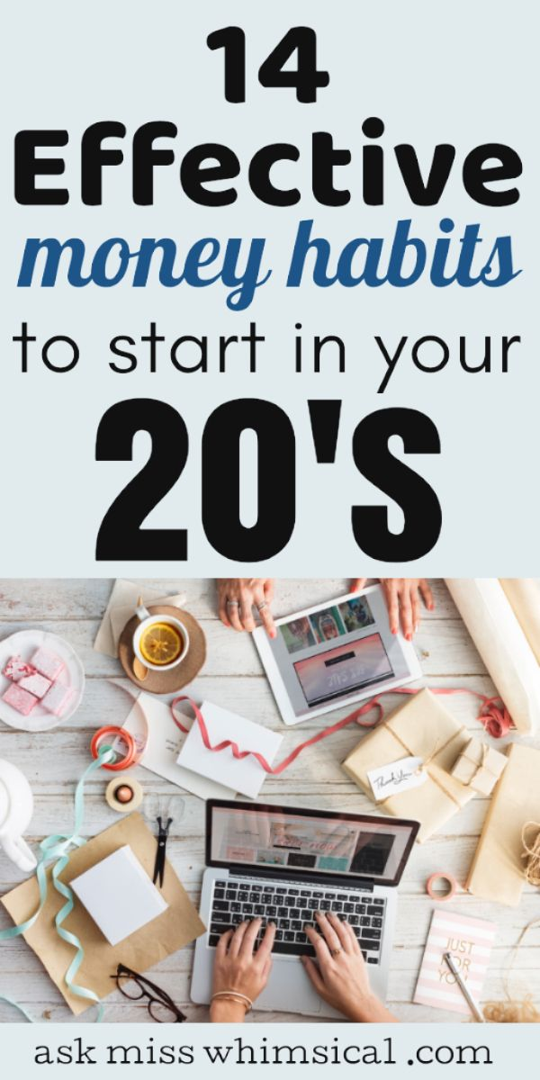 14 Financial Habits To Start Today To Become Rich In Your 20s – Saving Money Tips