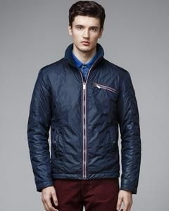 Легкая молодежная куртка цвета хаки