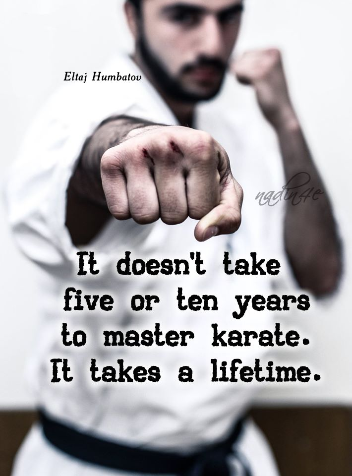 I've been doing Taekwondo for 10 years! I'm a second degree, but I'm not even an 1/4 of the way there!