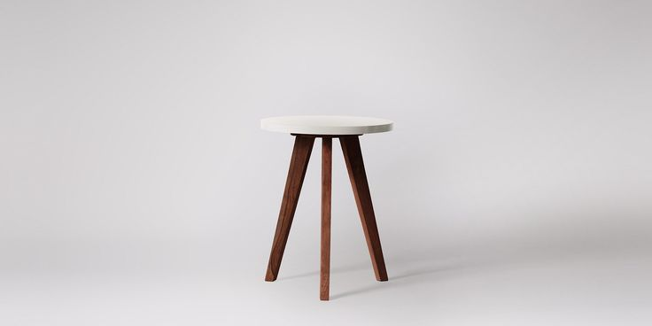 Swoon Editions Side Table, Mid century style in rosewood &79