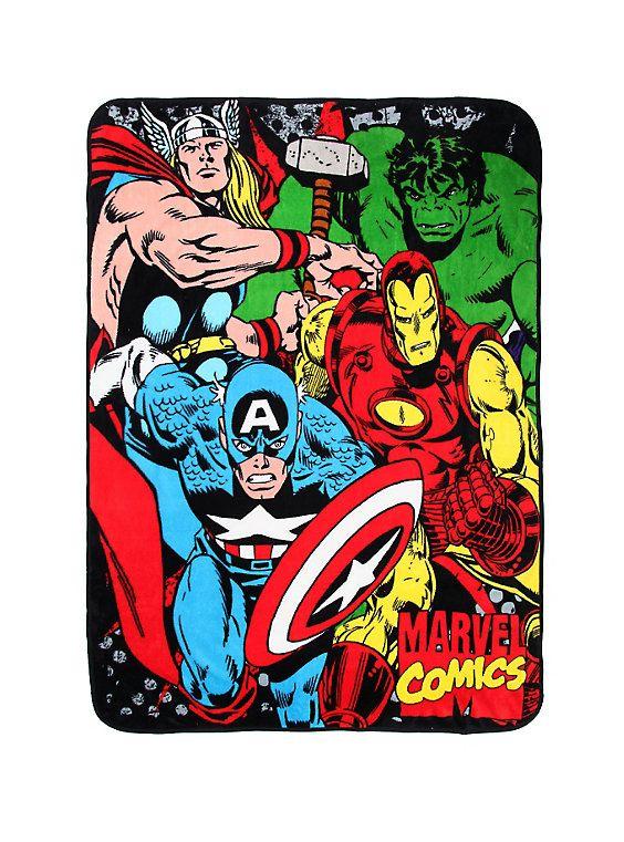 Marvel Avengers Comfy Throw, , hi-res