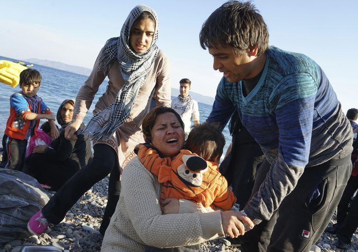 Fleeing Syria: A Desperate Migration - Los Angeles Times