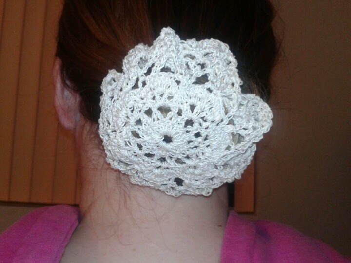 Crochet Hair Bun Cover : 1000+ images about Crochet hair accessories on Pinterest