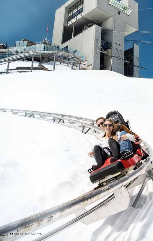 Winter coaster in Switzerland! FUN!!! #travel