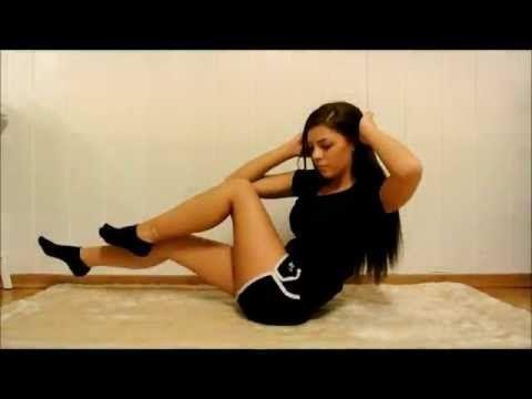 Treningsvideo / Trainingvideo - Mageøvelser / Stomach excercises - www.stina.blogg.no - YouTube