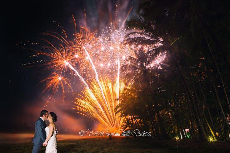 Fireworks Couples Shot