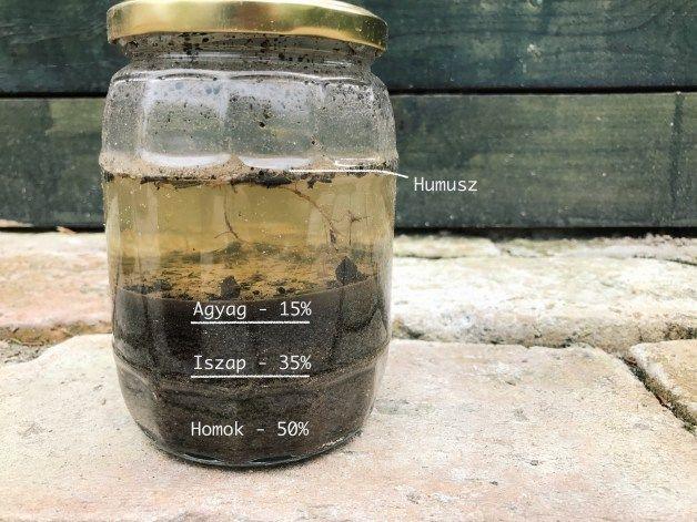 DIY Talajvizsgálat. Teszteld a talajon az egyszerű és nagyon hasznos befőttesüveg-teszttel! Útmutató képekkel a Konyhakertész blogon!
