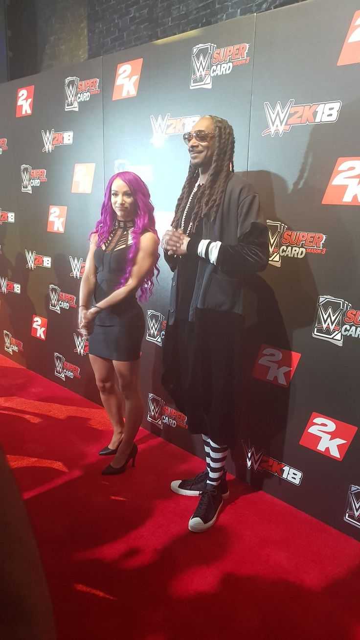 Sasha Banks & Snoop Dogg
