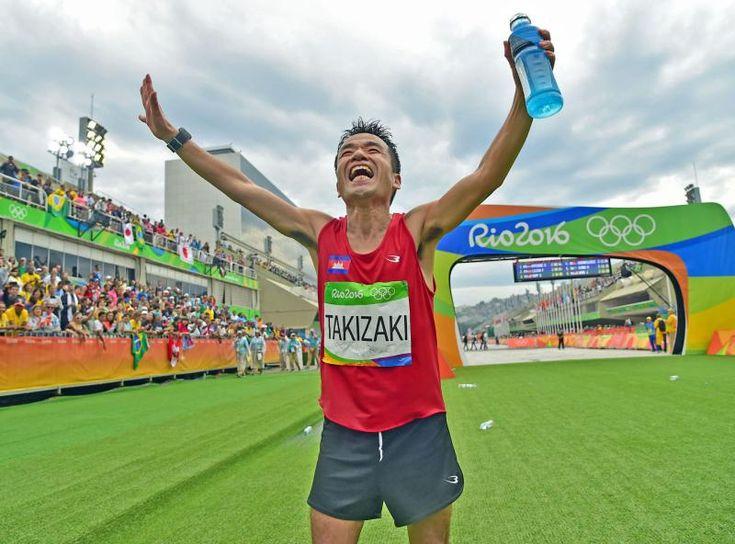 猫ひろし139位完走「最高の42キロ」だニャ~ #マラソン #リオ五輪