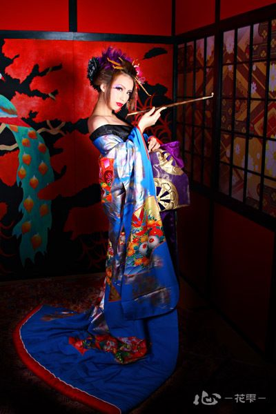 Pin By Elvira Santiago On Kimonos Pinterest Geisha