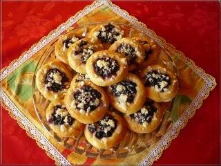Borůvkové koláčky