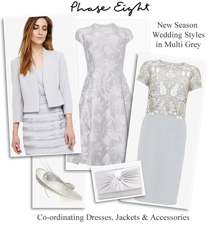 Phase Eight Grey Occasion Outfits