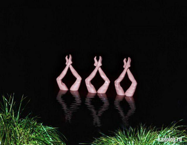 Фото:  Девушки в естественной среде обитания (Фото)