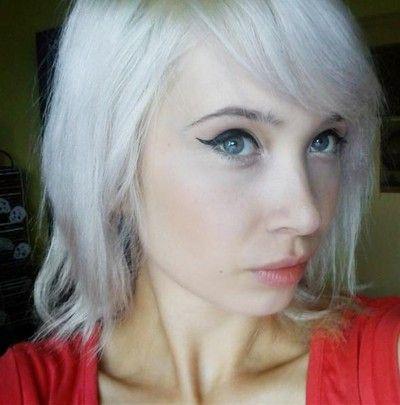 KiciaWampirzyca: How to get white hair ^^ Jak uzyskać białe włosy? Dekoloryzacja - z czerni do blondu / bieli.