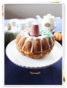 「ハロウィンに♪メープル パンプキンケーキ」hannoah | お菓子・パンのレシピや作り方【corecle*コレクル】