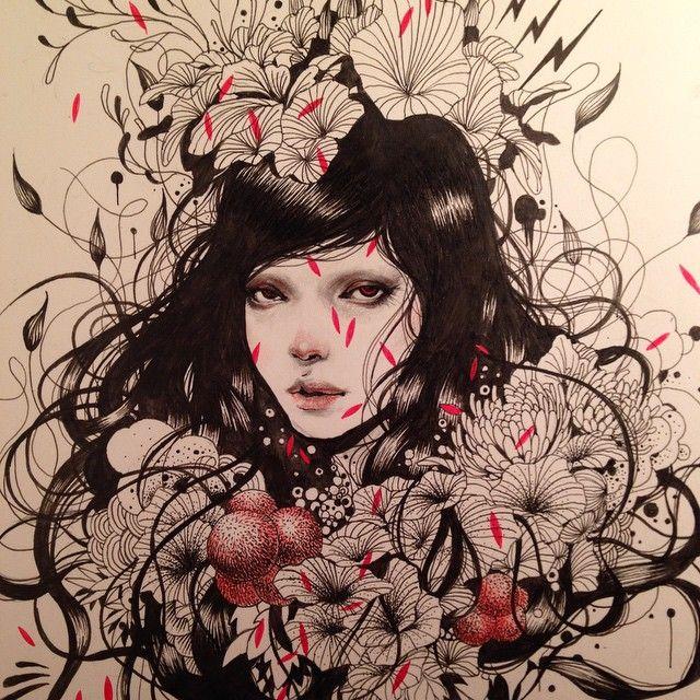 Gorgeous work by Taro kowalski Masuda found on Instagram - join us there @beautifulbizarremagazine