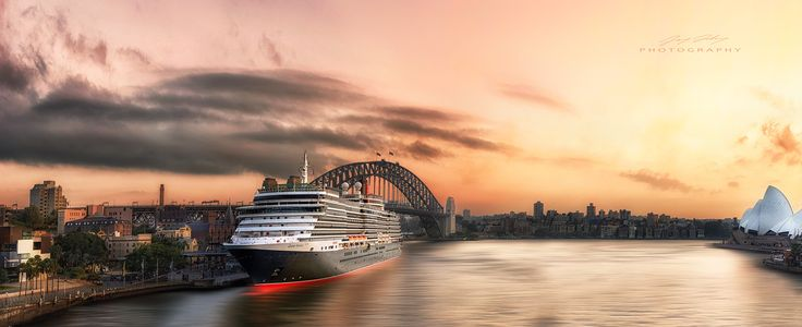 Queen Victoria - Thanks for stopping to look at my photo. All of my images are available for sale and can be shipped world wide.   Please email jay@jdlphotography.com.au for any enquiries.  ****  This is Queen Victoria, the little sister to the acclaimed cruise ship - Queen Mary ll, Docked at the Overseas Passenger Terminal in Circular Quay Sydney on the 11th March 2015.   Sydney is scheduled to receive upwards of 280 cruise ships this year and with a sight such as this it's not hard to see…