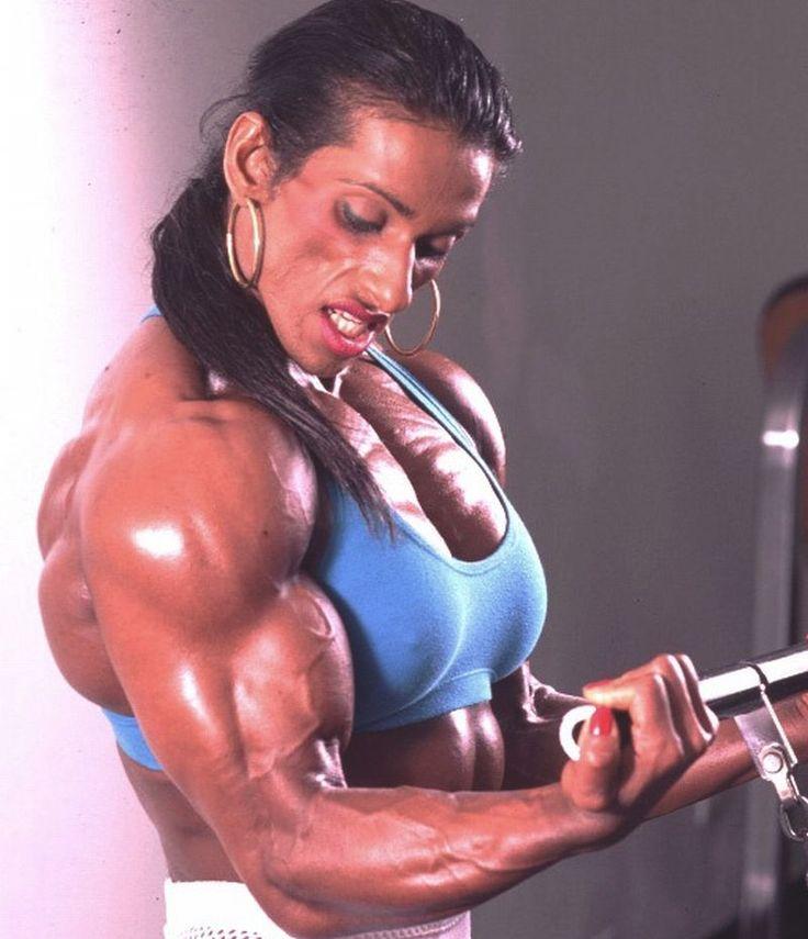 Marie Laure Mahabir African Muscle Girls Bodybuilding Fitness Motivatio