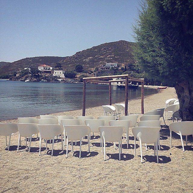All set. |  #wedding #preparations #patmosaktis