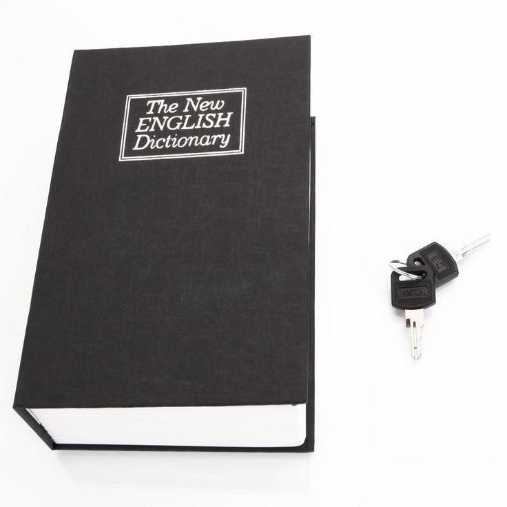 Book Secret Safe Storage #Unbranded