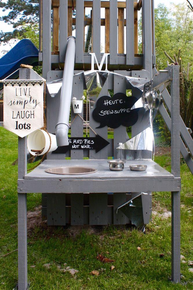 Matschküche Aus Paletten Selber Bauen Anleitung Matschküche Anbau